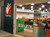 The Toa Payoh Hub branch NTUC Fairprice Supermarket before the makeover.