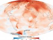 English: Global climate change 2000-2009 and 1950-1980/ Русский: Изменение средних температур за периоды 2000-2009 и 1950-1980.