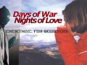Days of War, Nights of Love