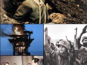 Montage of Iran-Iraq War