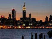 English: Empire StateBuilding From NJ
