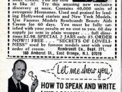 Estrogenic Hormone Cream / Let me show you how to speak and write like a college graduate 1969