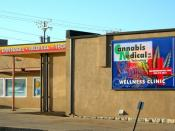 English: Legal medical marijuana clinic, Cannabis Medical Technology at 762 Kalamath Street, Denver, Colorado.