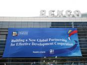 The Fourth High Level Forum on Aid Effectiveness, Busan, Republic of Korea, 29 November – 1 December 2011