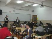 English: This is a picture of an IBD (International Baccalaureate Diploma) classroom in Shanghai High School International Division taken in 2010.