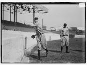 [Eppa Rixey (left) & Erskine Mayer (right), Philadelphia NL, at Polo Grounds, NY (baseball)]  (LOC)