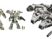 Image of the Han Solo & Chewbacca Transformer figures
