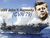 U.S. Navy names next aircraft carrier after President John F. Kennedy.