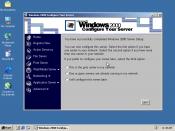 Screenshot of Windows 2000 Server