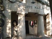 Tomba di Giuseppe Mazzini al Cimitero monumentale di Staglieno, Genova. category:user:Twice25