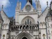 Royal Courts of Justice, England