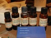 English: Quick drug testing reagents. Photographed in Finnish customs museum. Suomi: Pikahuumetestejä Tullimuseossa.