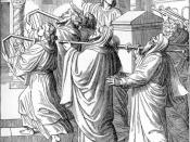 English: The Ark of the Covenant Brought into the Temple