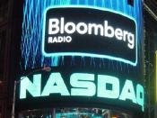 English: NASDAQ in Times Square, New York City, USA.