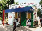 A DBBL Nexus ATM booth.