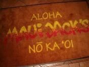 Maui Jack's Floor Mat