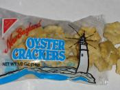 A typical package of oyster crackers