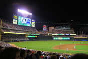 English: Minnesota Twins vs. Seattle Mariners at Target Field in Minneapolis