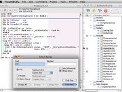 Screenshot of FutureBASIC Editor and Project Manager