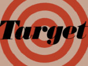 English: Logo of Target Stores in 1968. Clearly outlines the visual style used by early Target stores and thus material to the History section of the Target Corporation article. At reasonable, practical resolution and compliant with fair use policies. It