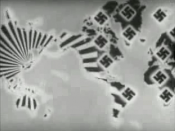 English: How the Axis Powers aimed to carve up the world - from the documentary Prelude to War.