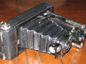 English: 1921 Kodak Vest Pocket Kodak camera (original patent in 1913)