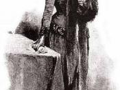 Illustration of the Sherlock Holmes short story A Case of Identity.