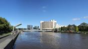 English: Yarra River & Spencer Street Bridge, Melbourne
