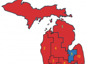 Michigan Delegation to the United States House of Representatives as of end of 110th Congress (not updated for 2009) Republican incumbent Democratic incumbent