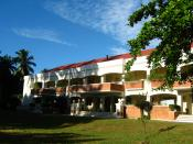 English: The Silliman University Marine Laboratory