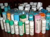 Various homeopathic remedies