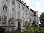 Passau, gebouw, het lamberg paleis