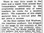 English: Review of Are You There? in the New York Times of November 2, 1913. Taken from The New York Times online archive
