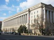 Internal Revenue Service building - Washington DC - 2012
