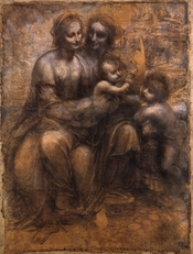 The Virgin and Child with St Anne and St John the Baptist