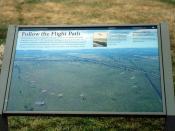 Sign, Huffman Prairie