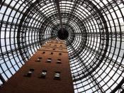 English: The Coops Shot Tower in Melbourne Central, Australia.