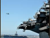 USS Carl Vinson & USS Midway @ San Diego Ca.
