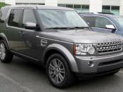 Land Rover LR4 photographed in Upper Marlboro, Maryland, USA. Category:Land Rover Discovery 4 Category:Grey SUVs