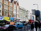 English: Edgware Road, Paddington, London