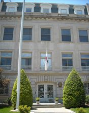 Embassy of South Korea to the United States. Located in Washington, D.C.