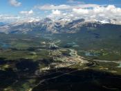 Česky: Město Jasper z Whistlersu