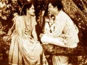 English: A still from the 1936 Hindi film Achhut Kanya