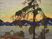 English: The Jack Pine (1916–1917) by Tom Thomson, from the National Gallery of Canada http://national.gallery.ca/