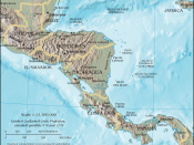English: Map of Central America by the CIA World Factbook Español: Mapa de Centroamérica en el CIA World Factbook