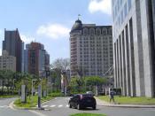Legend: CENU Comercial Complex in São Paulo, Brazil. Español: Legenda: Complejo Comercial CENU en São Paulo, Brasil.