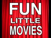 English: Fun Little Movies Logo
