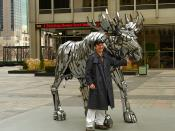 Keith with Metal Moose