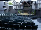Stage of the OSF Elizabethan Theatre