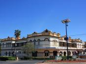 Former Club House Hotel, Narrabri, NSW.
